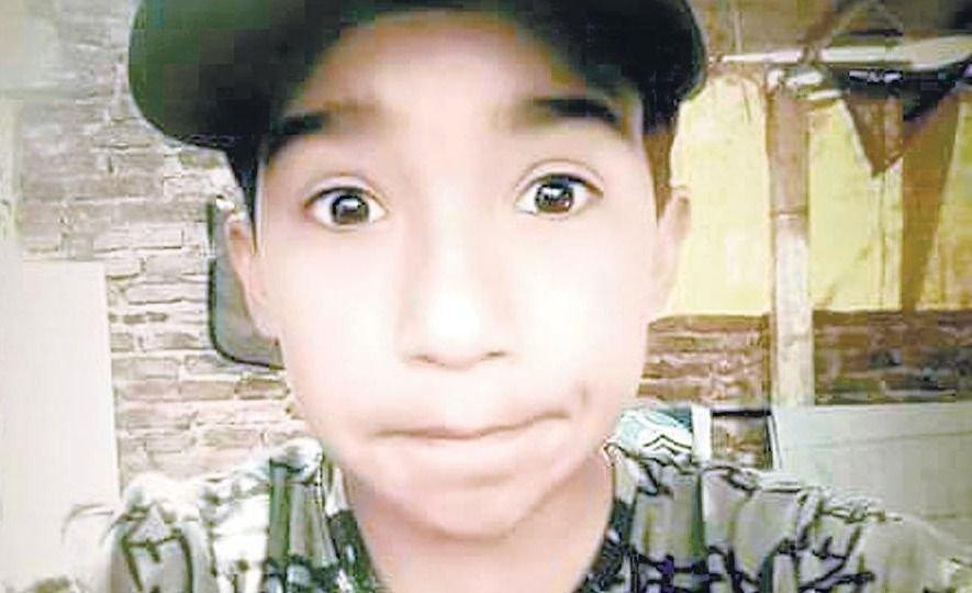 La foto más polémica de Facundo, el nene muerto por un balazo policial