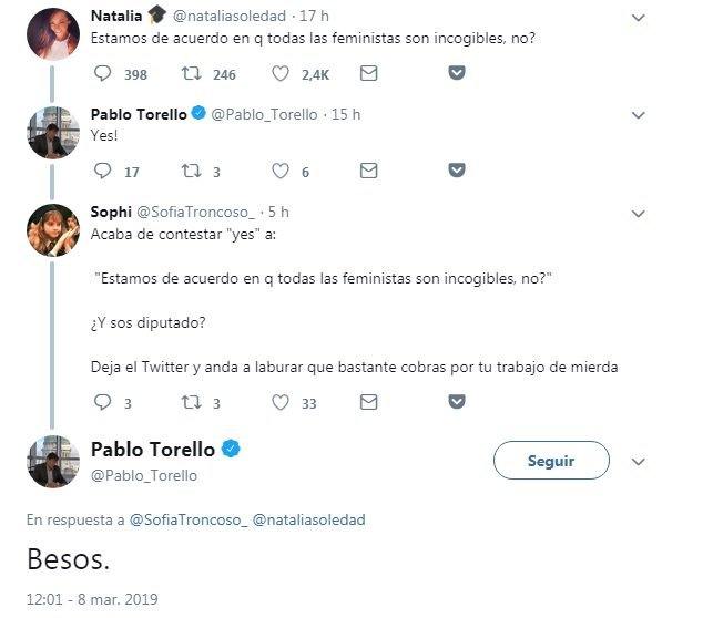 Pablo Torello-twitter-feministas-incogibles-repudio-enojo
