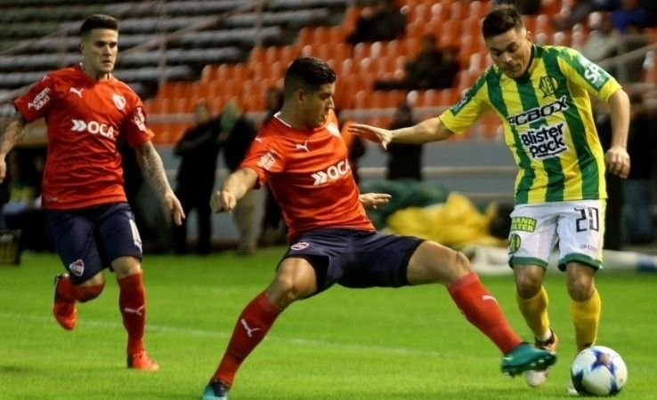 Independiente derrota a Aldosivi