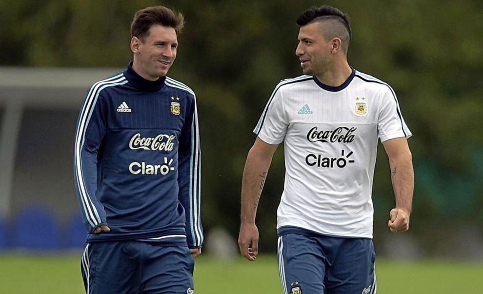 Messi Agüero