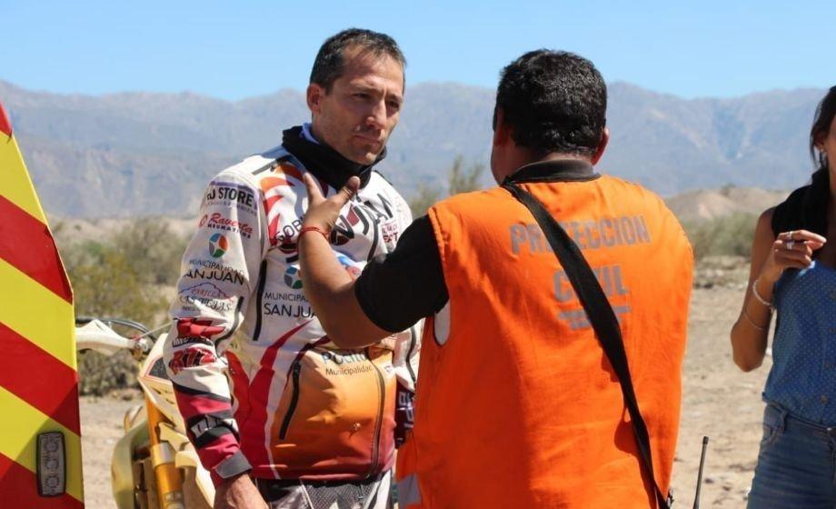 Puchi Ontiveros, el piloto del Dakar que encontró a Benjamín