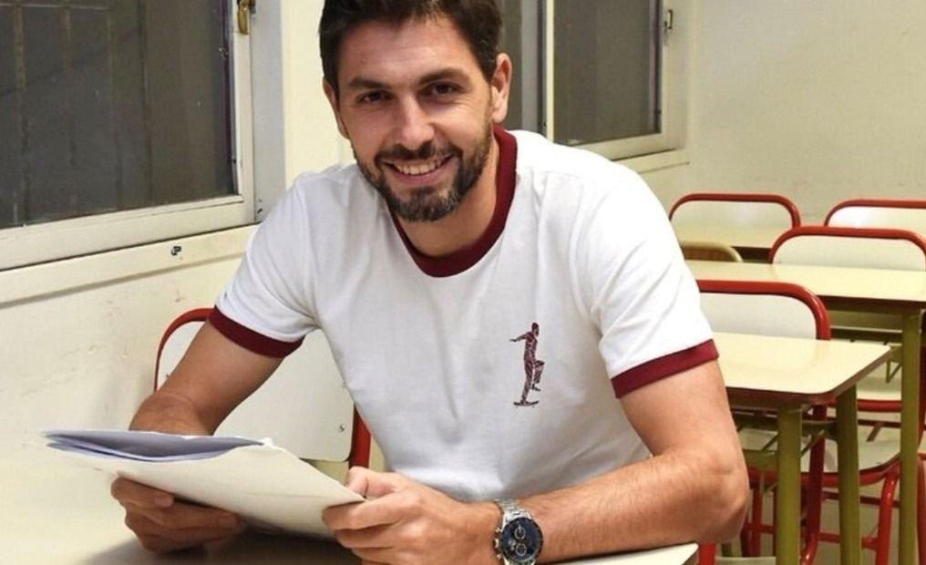 A los 36 años Germán Lux terminó la secundaria