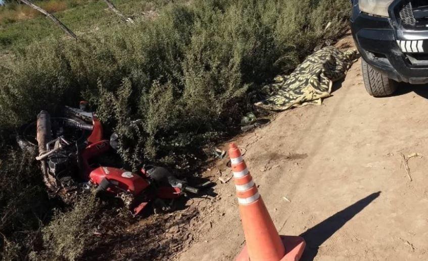 Mendoza | Se cayó de la moto y murió al golpear su cabeza contra el piso