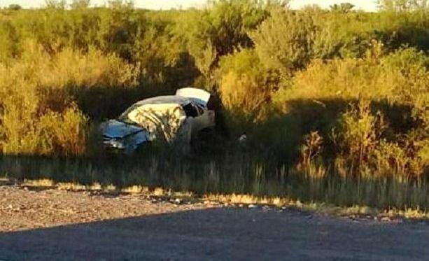 San Rafael: una mujer falleció al despistarse y volcar con su auto