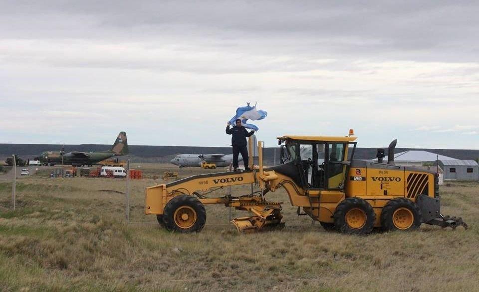 VIDEO | Un suboficial logró que maquinarias de Lázaro Báez sean destinadas a Marambio
