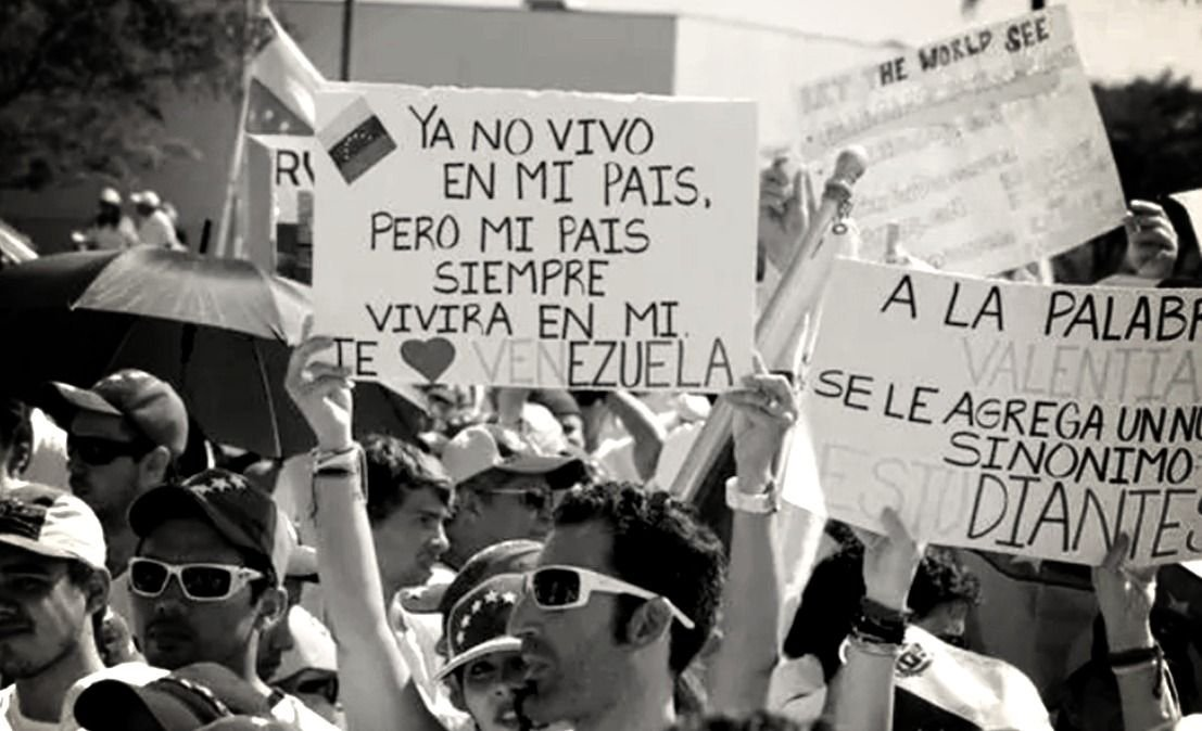 Venezolanos en Mendoza realizan una campaña para ayudar a su país