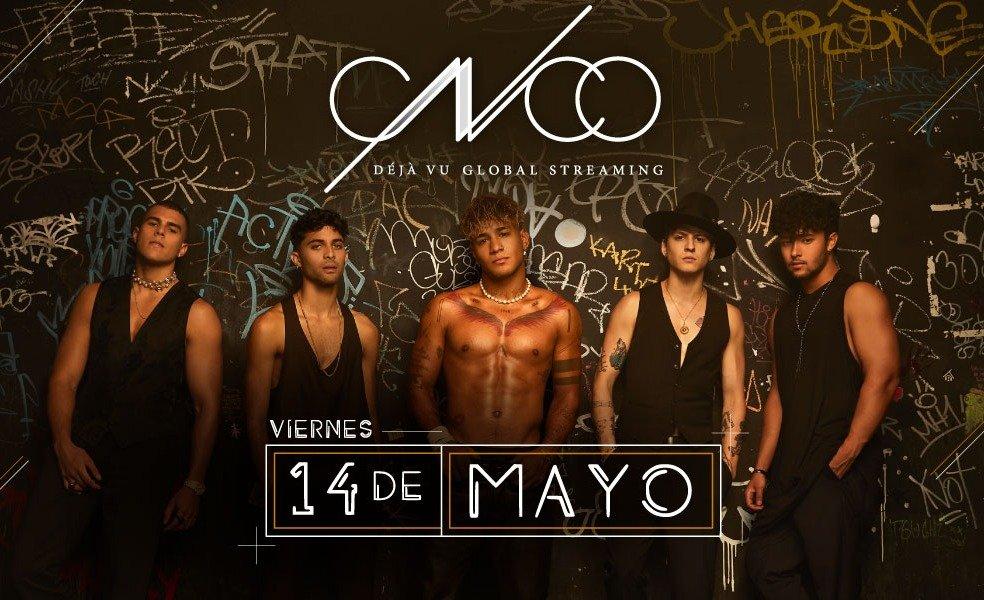 """CNCO lanzó el video de """"Por Amarte Asi"""" y anunció show streaming"""