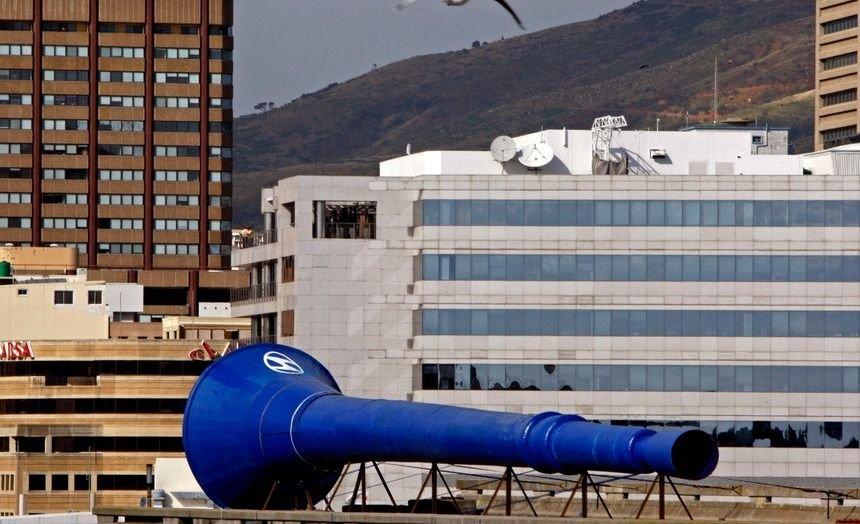 Mundial: instalarán una vuvuzela gigante para los goles de Rusia