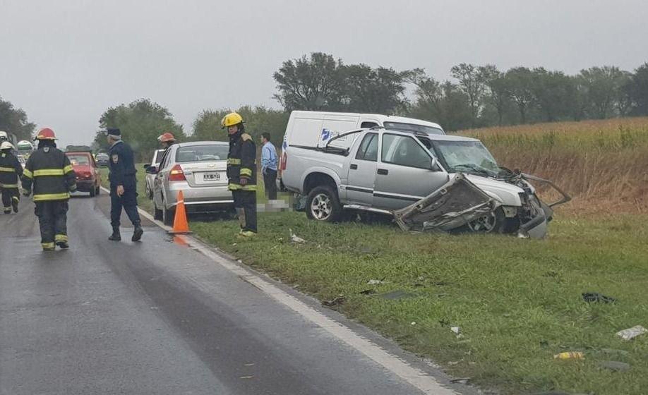 Choque fatal: murieron tres personas en una ruta cordobesa