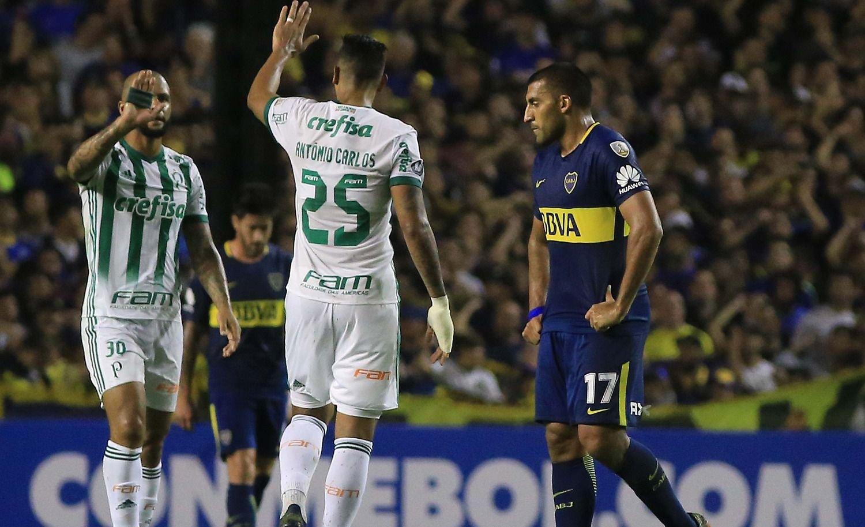Boca perdió con Palmeiras y complicó su pase a octavos