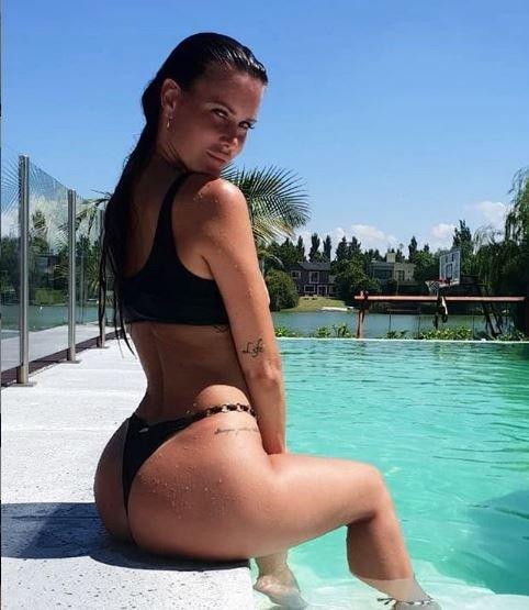 natalie weber-fotos-hot-mauro zárate-modelo-instagram-galería-incorrectas-sensual-river plate-boca juniors-copa libertadores-entrenamiento-gym