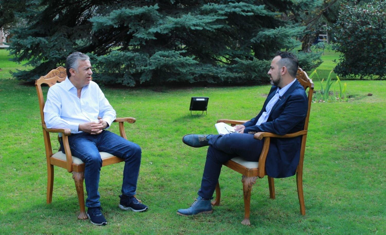 Entrevista exclusiva con Alfredo Cornejo