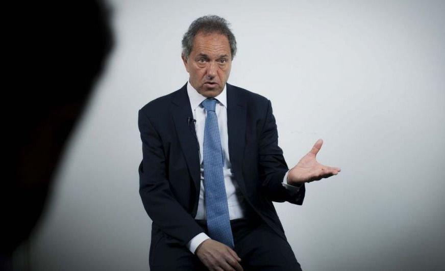 """Daniel Scioli: """"Quisiera tener la oportunidad de volver a debatir con Mauricio Macri"""""""