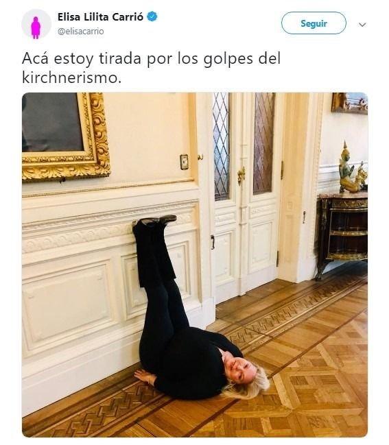 elisa-carrió-foto-kirchnerismo-twitter-dichos-de la sota-