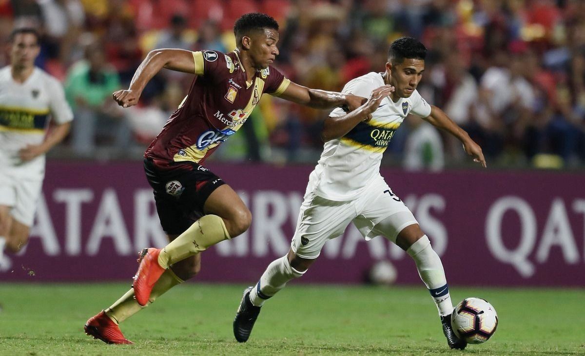En Colombia, Boca igualó frente a Deportes Tolima y quedó bien ubicado