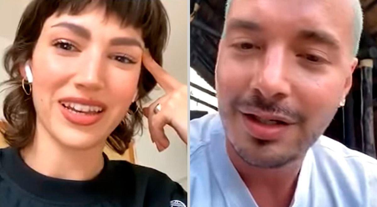 J Balvin y Úrsula Corberó tuvieron un picante vivo en Instagram
