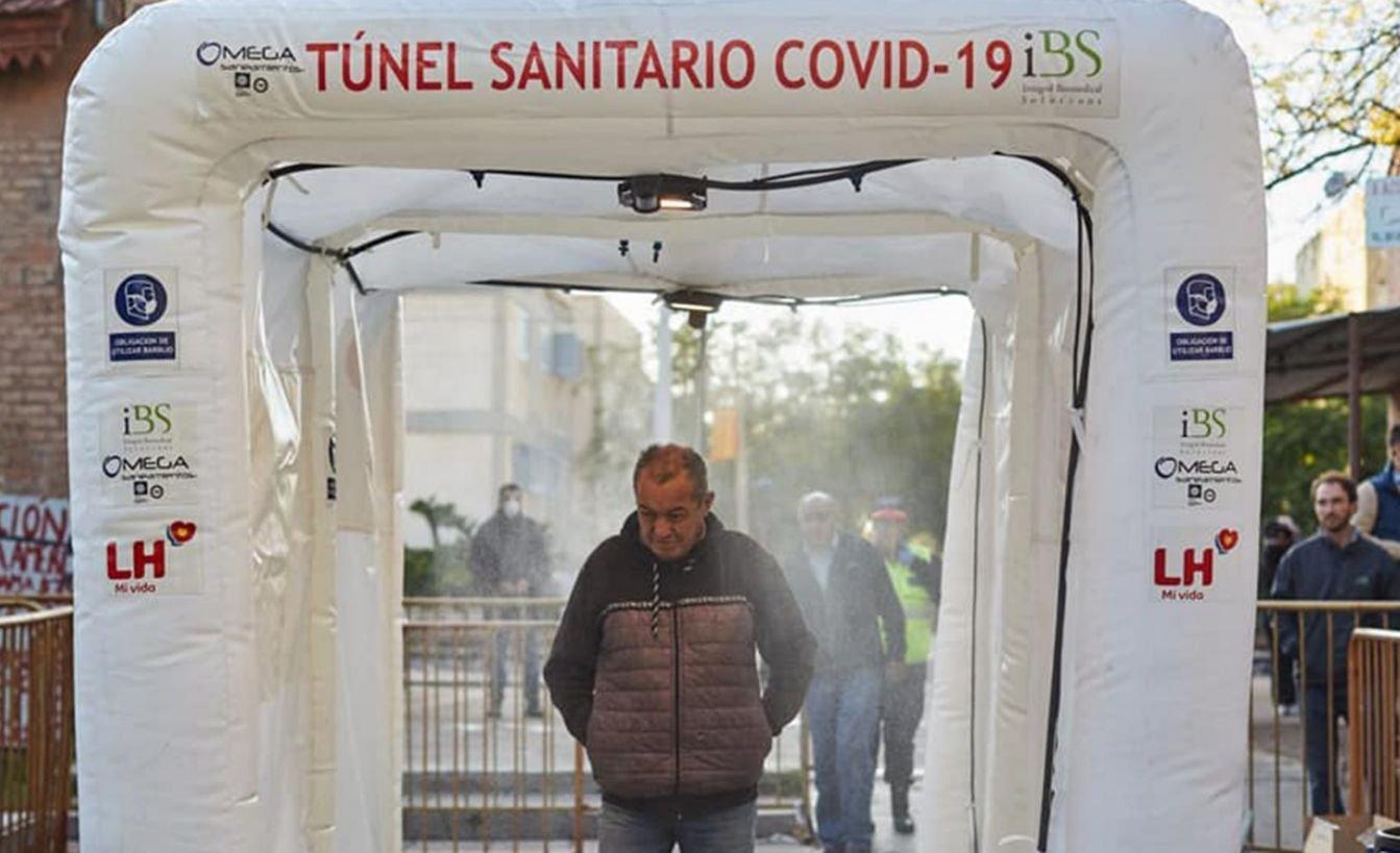 Coronavirus: fuerte controversia por la utilización de túneles ...