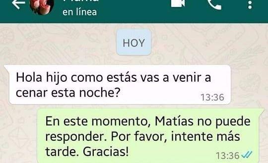 Le Hizo Una Terrible Broma A Su Mama Por Whatsapp Y Es Furor