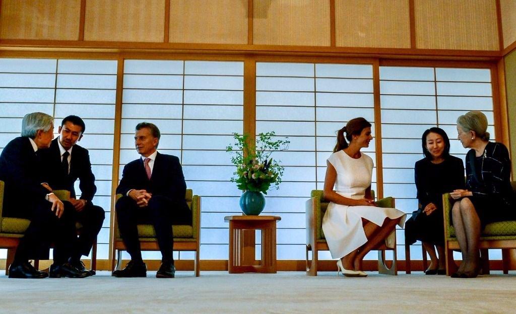 Luego de la reunión con el emperador de Japón, Macri vuelve al país