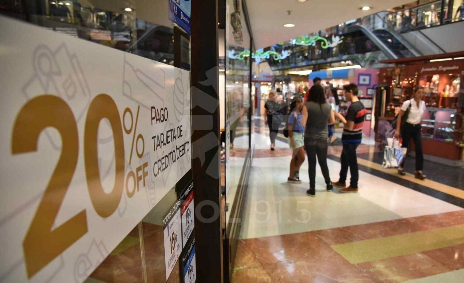 Crecieron las ventas en supermercados y shoppings