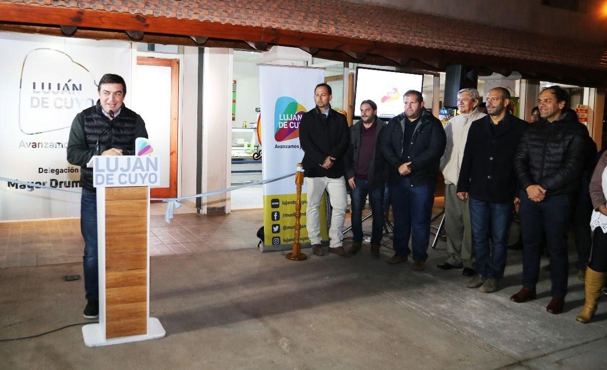 Inauguraron una nueva delegación municipal en Drummond