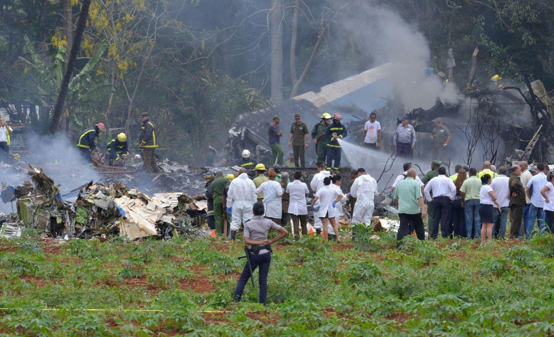 Un avión con 104 pasajeros se estrelló en La Habana