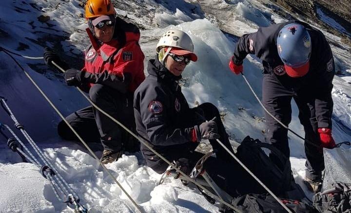 rescate alta montaña