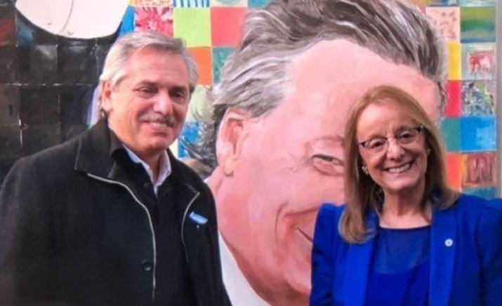 """Alberto Fernández en Santa Cruz: """"Tienen suerte de tener a Alicia"""""""