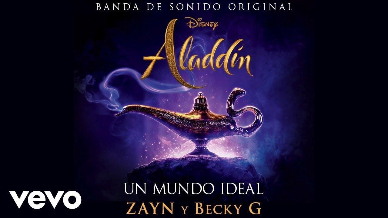 """Becky G y Zayn cantan """"un mundo ideal"""""""