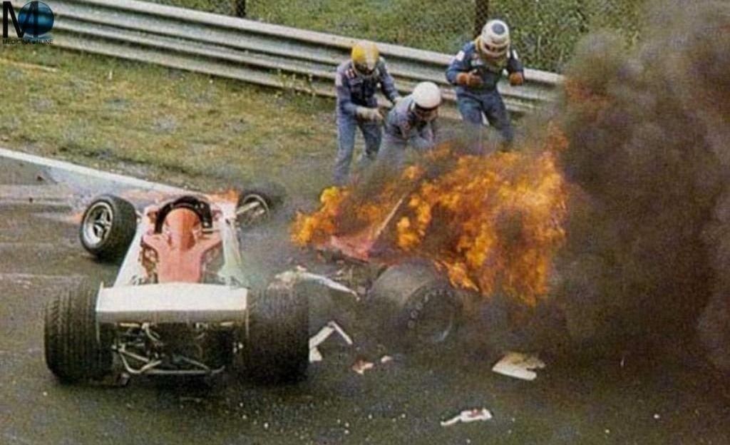 Niki Lauda accidente