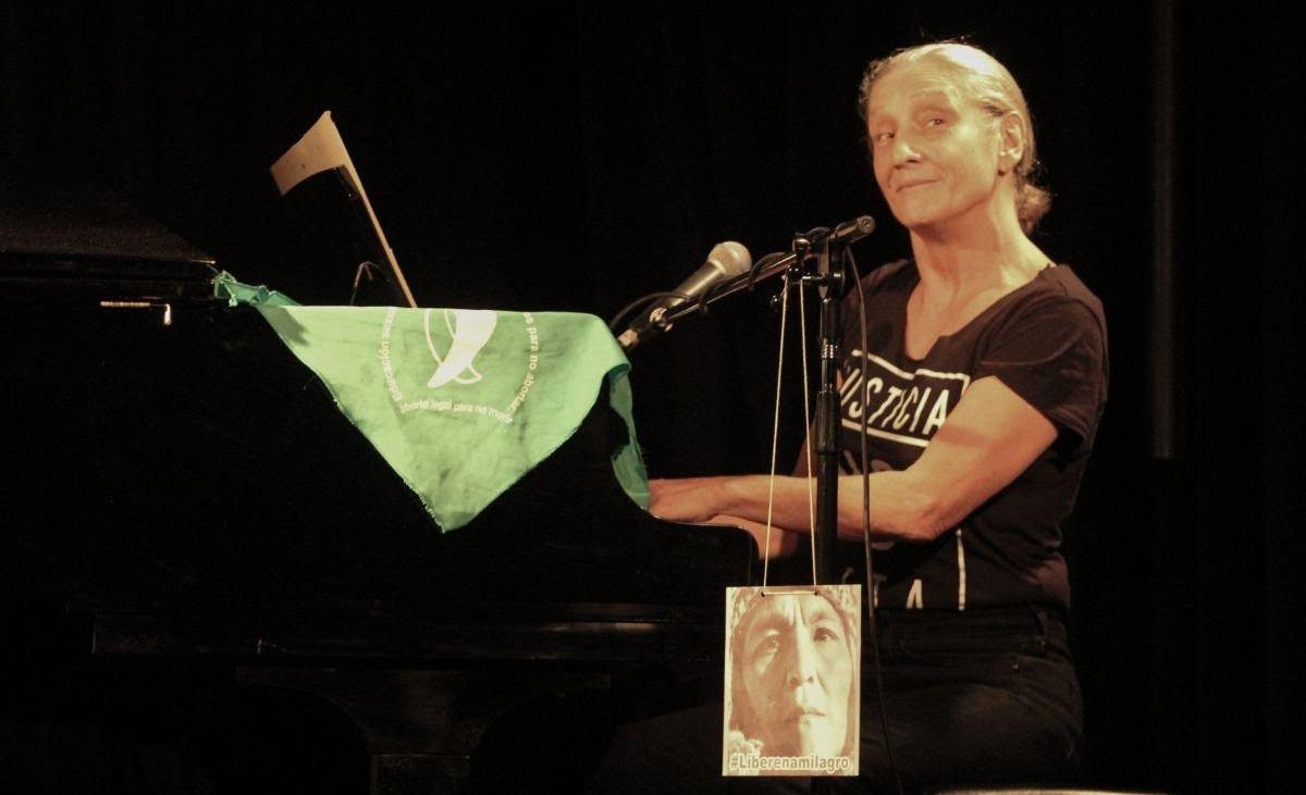 Liliana Felipe tiene algo que cantar en Mendoza