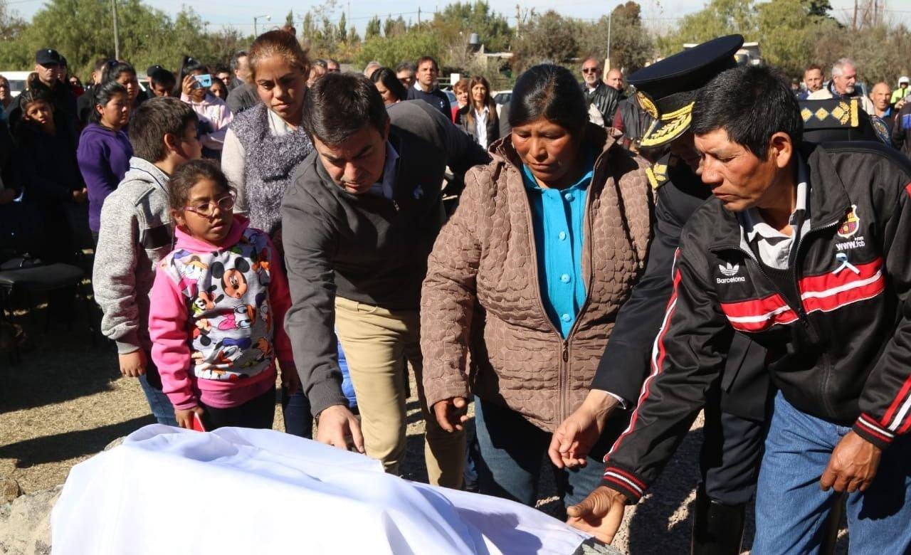 Omar De Marchi celebró el 25 de Mayo recorriendo Luján de Cuyo