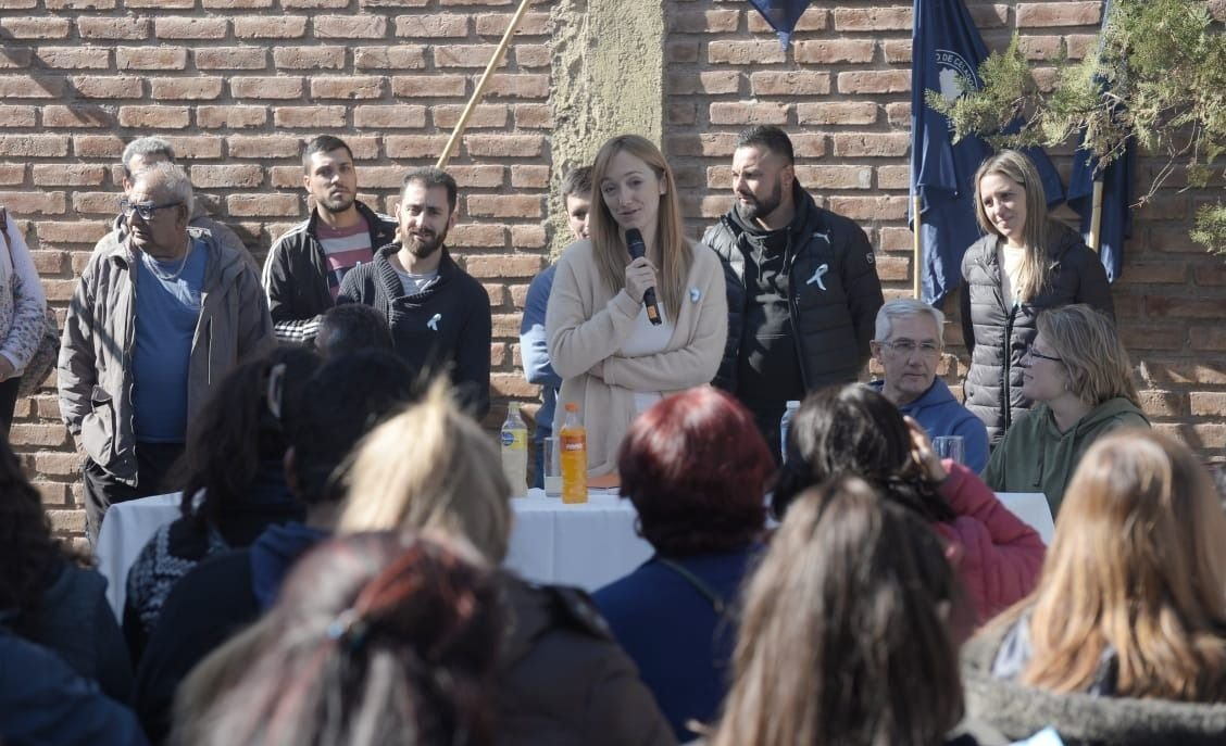 Anabel Fernández Sagasti recordó a Néstor Kirchner en el Día de la Patria