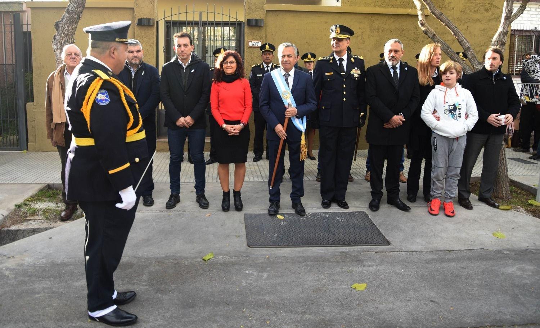Cornejo inició el 25 de mayo con el tradicional Toque de Diana