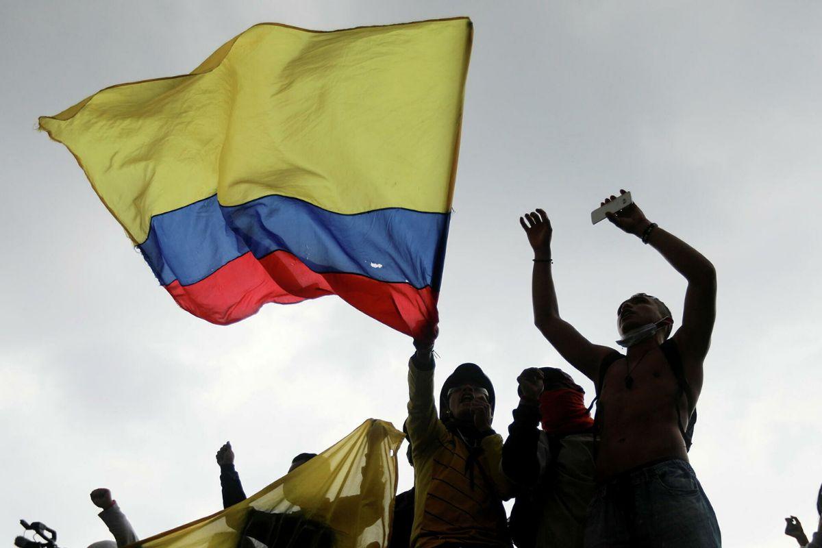 Los artistas reaccionaron a la violencia que se vive en Colombia