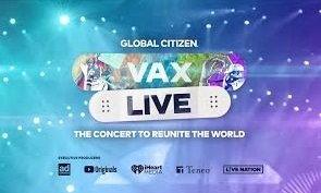 Vax Live: cómo ver el concierto a beneficio online