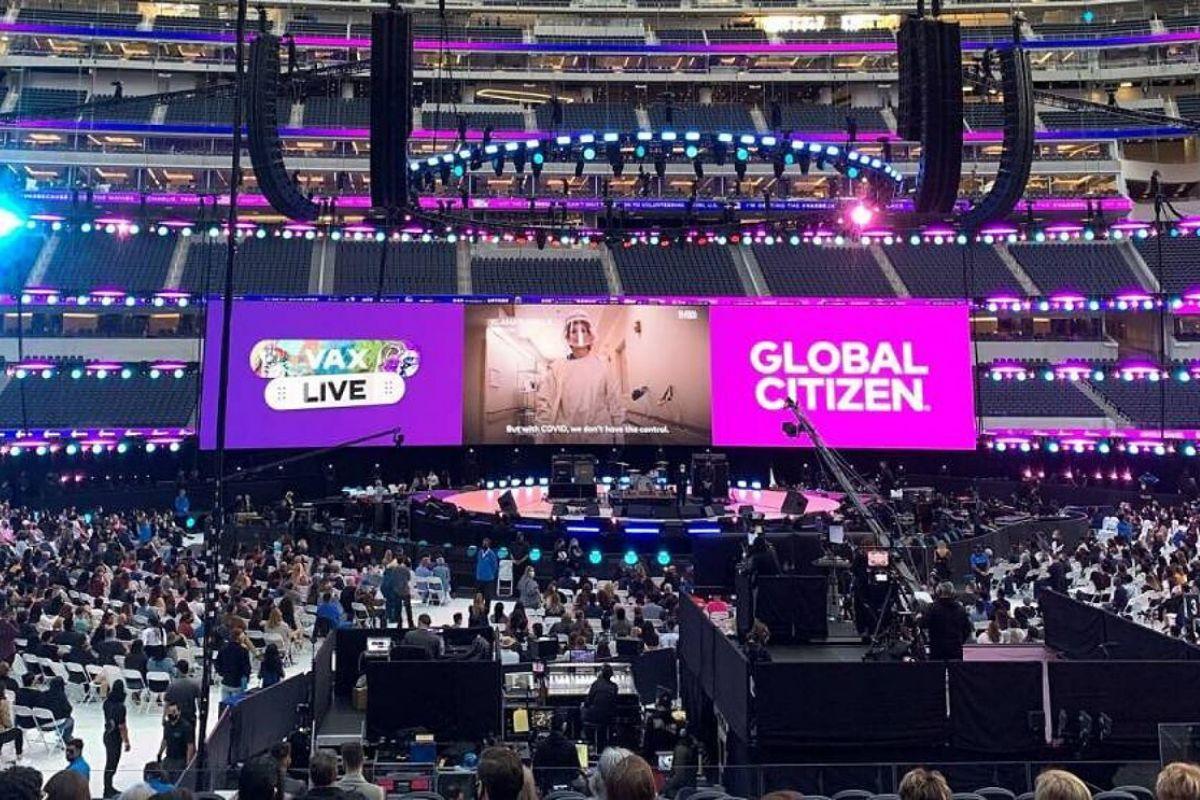 El concierto Vax Live recaudó 302 millones de dólares