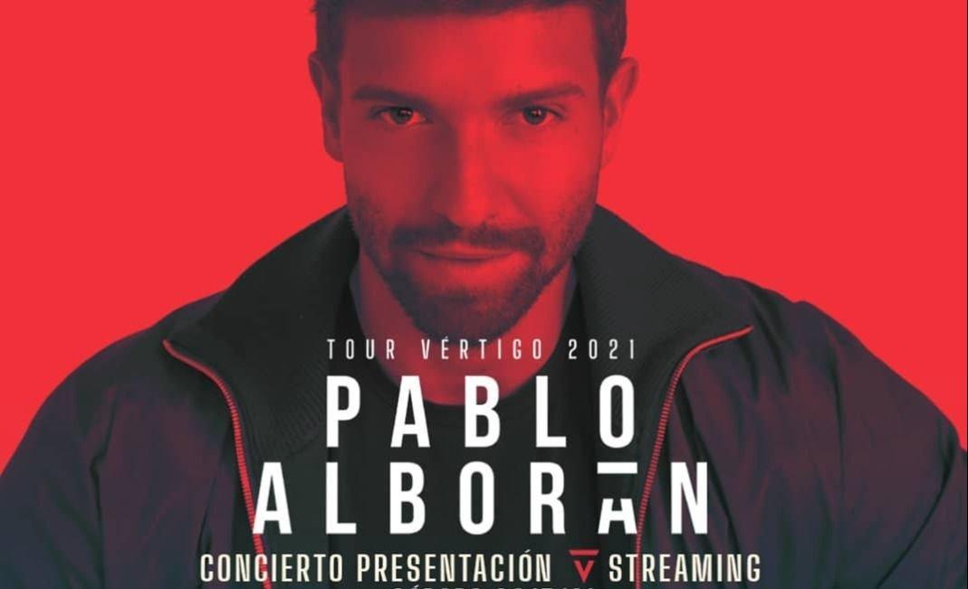 Pablo Alboran anuncia su 'Tour Vértigo 2021'