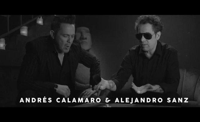 """Bomba: Andrés Calamaro y Alejandro Sanz unen sus voces en """"Flaca"""""""