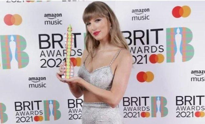 El récord que rompió Taylor Swift tras ganar el Global Icon