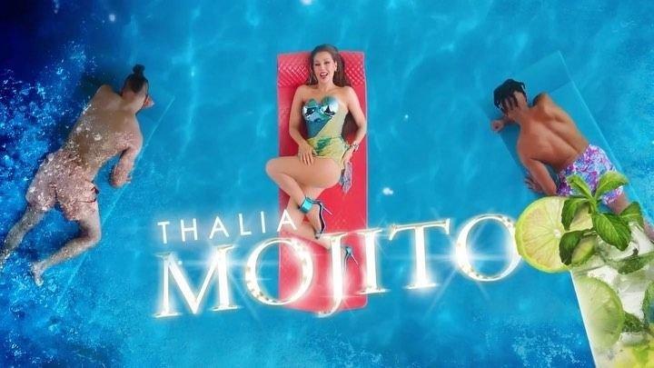 "Thalía presentó el video de ""Mojito"" en The Jimmy Fallon Show"