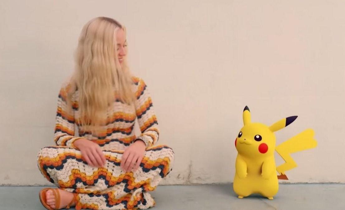 "VIDEO | Katy Perry presentó ""Electric"" junto a Pikachu"