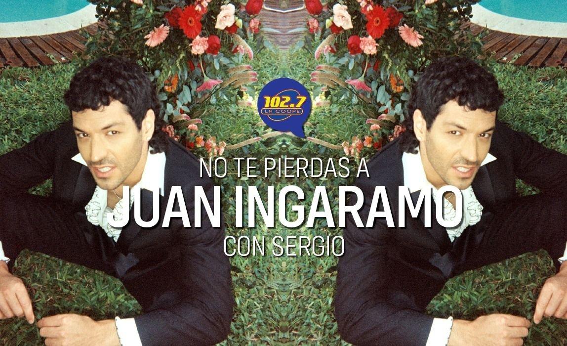 """ENTREVISTA   Juan Ingaramo: """"Mucha gente me dice que el disco los está ayudando a sobrellevar estos momentos de crisis sanitaria""""."""