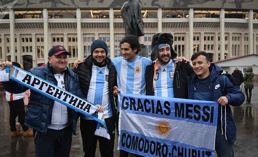 rusia 2018 moscú argentinos