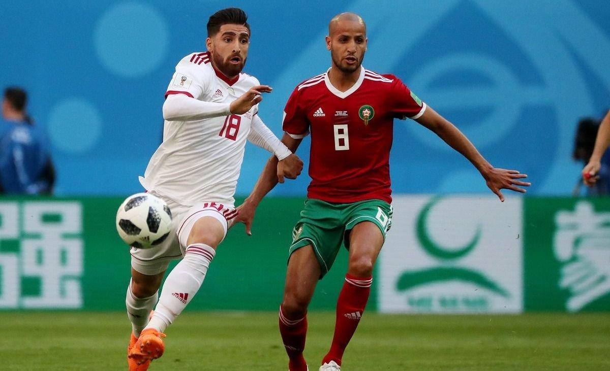 Sobre el final Irán derrotó a Marruecos