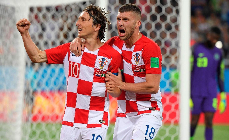 Croacia derrotó a Nigeria y lidera el grupo D