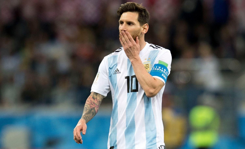 GESTO POLÉMICO | ¿Messi vaticinó así la tremenda derrota ante Croacia?