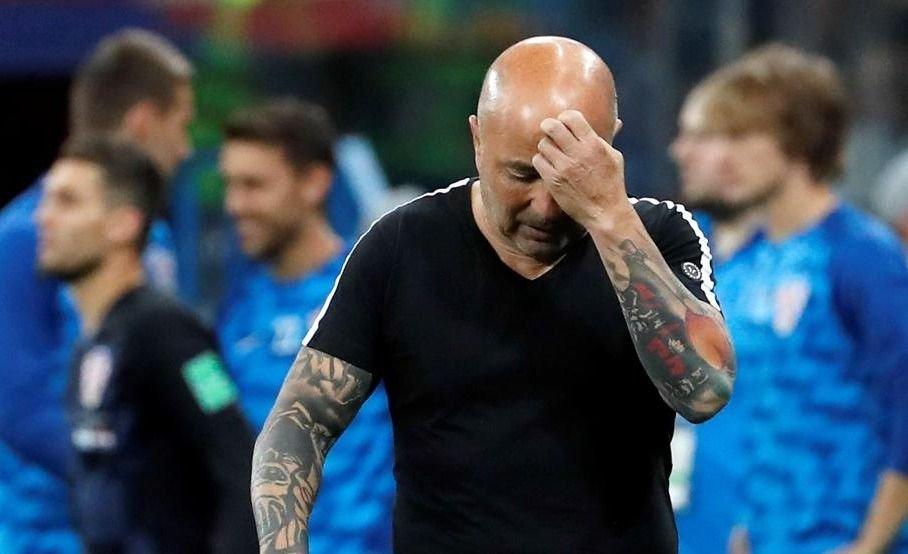 Sampaoli podría renunciar antes del partido con Nigeria