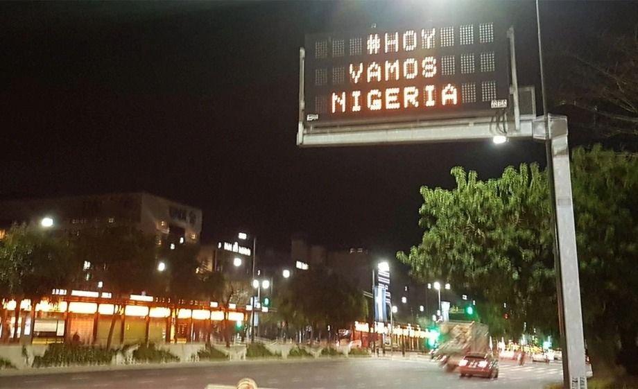 Los argentinos dicen: ¡Vamos Nigeria!