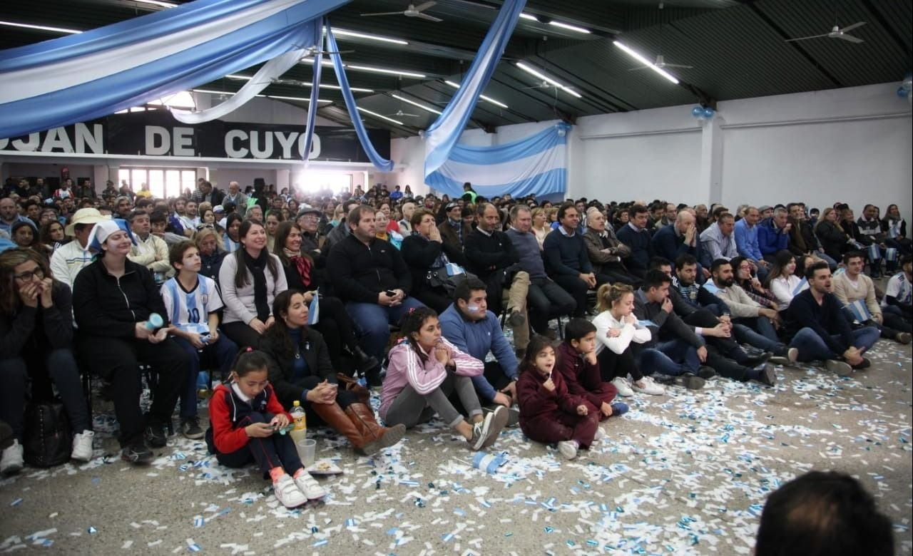 Así vivió la derrota de la Selección argentina el Fan Fest de Luján
